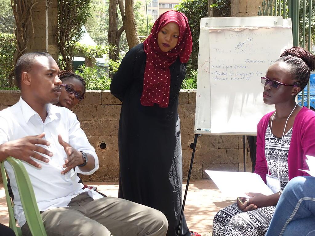 Generation Change program in Kenya. Photo courtesy of USIP.