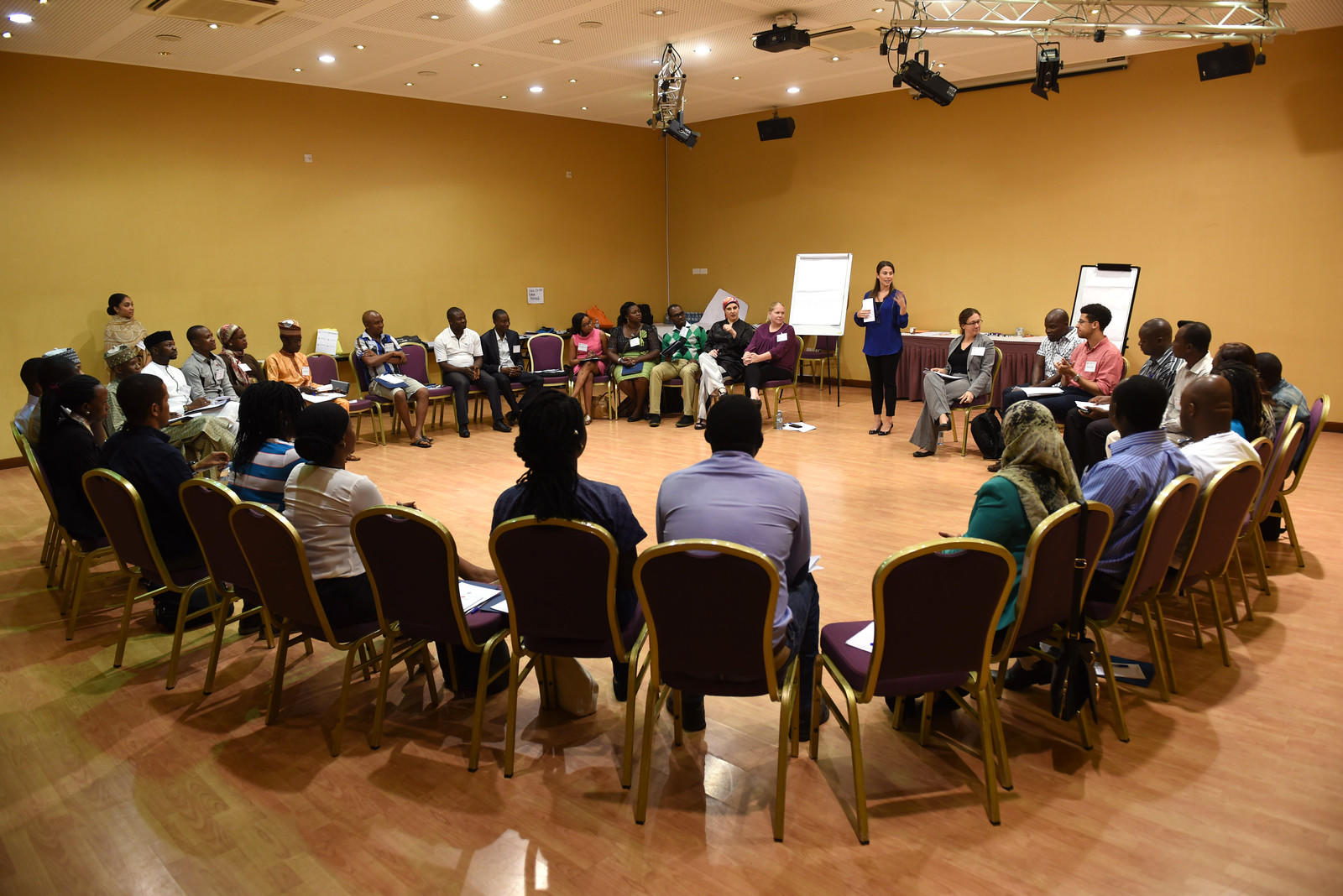 Generation Change training in Uganda