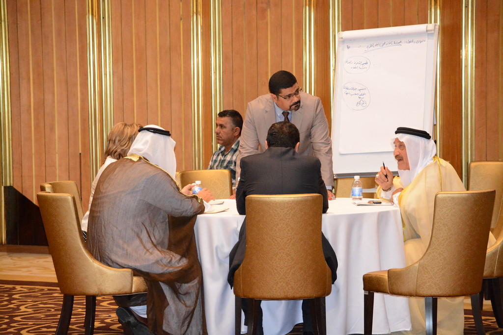 The Ninawa discussions in Iraq. Photo courtesy of USIP