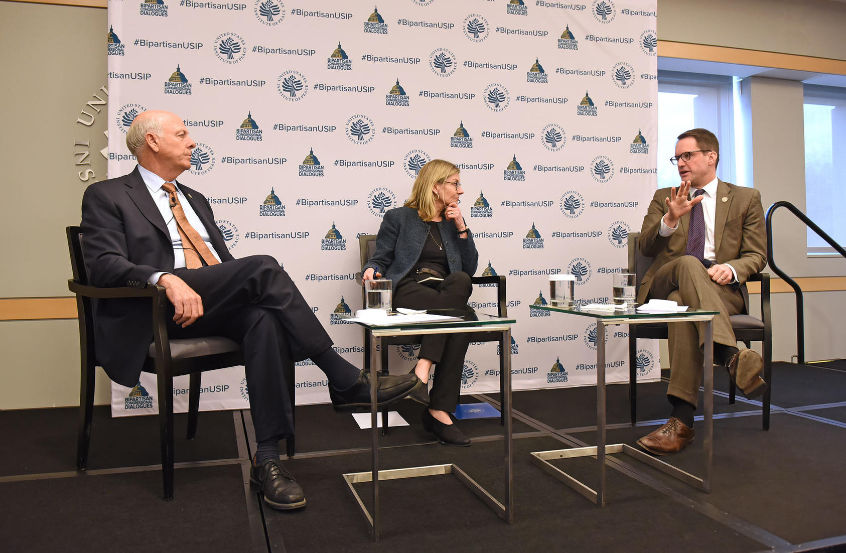 Rep. Steve Pearce, Nancy Lindborg, Rep. Jim Himes