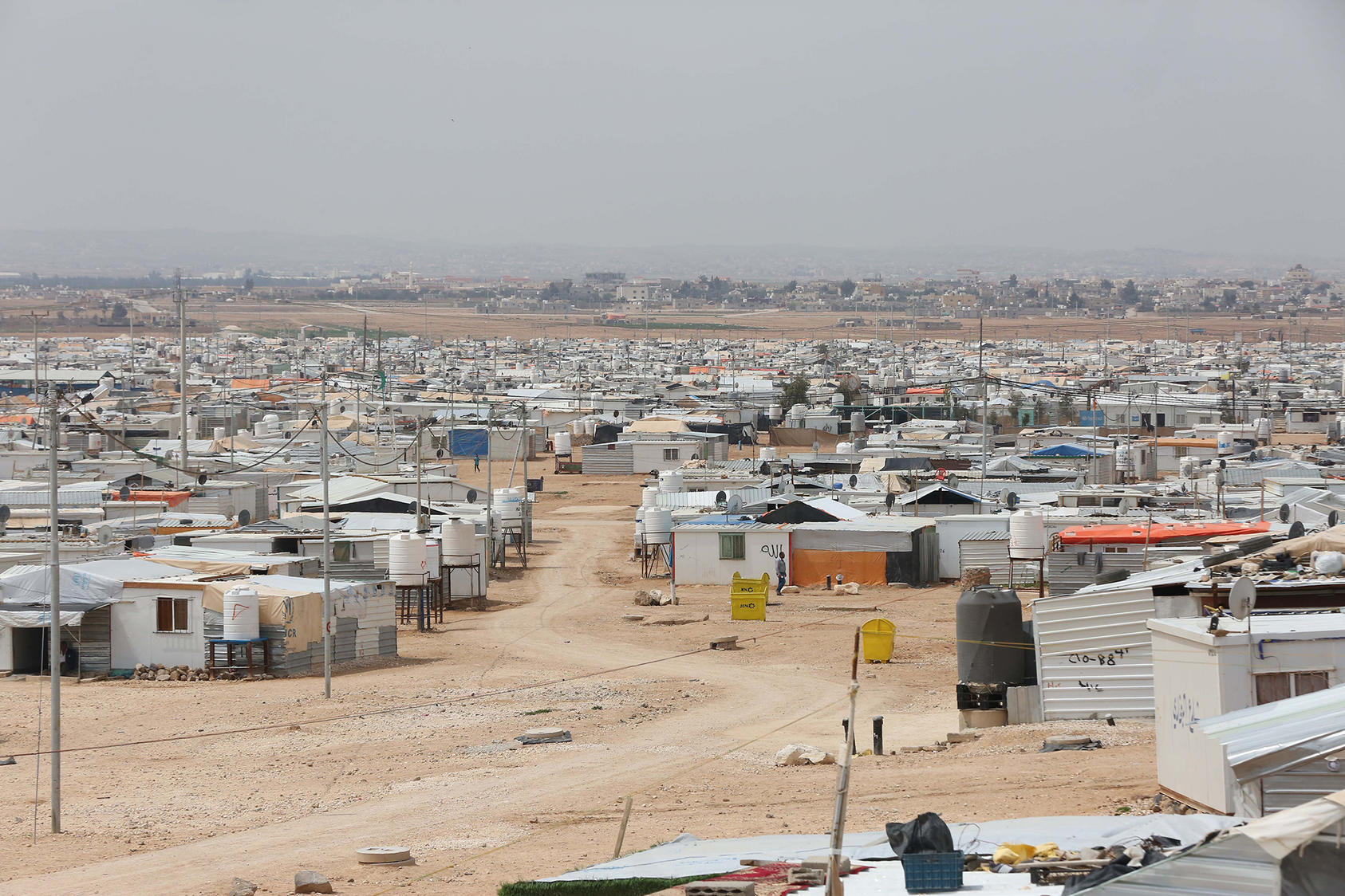 Zaatari Refugee Camp in Jordan (UN Photo/Sahem Rababah)