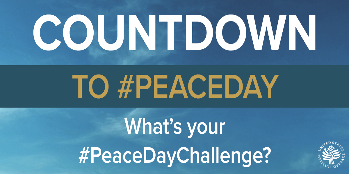 peace day challenge image