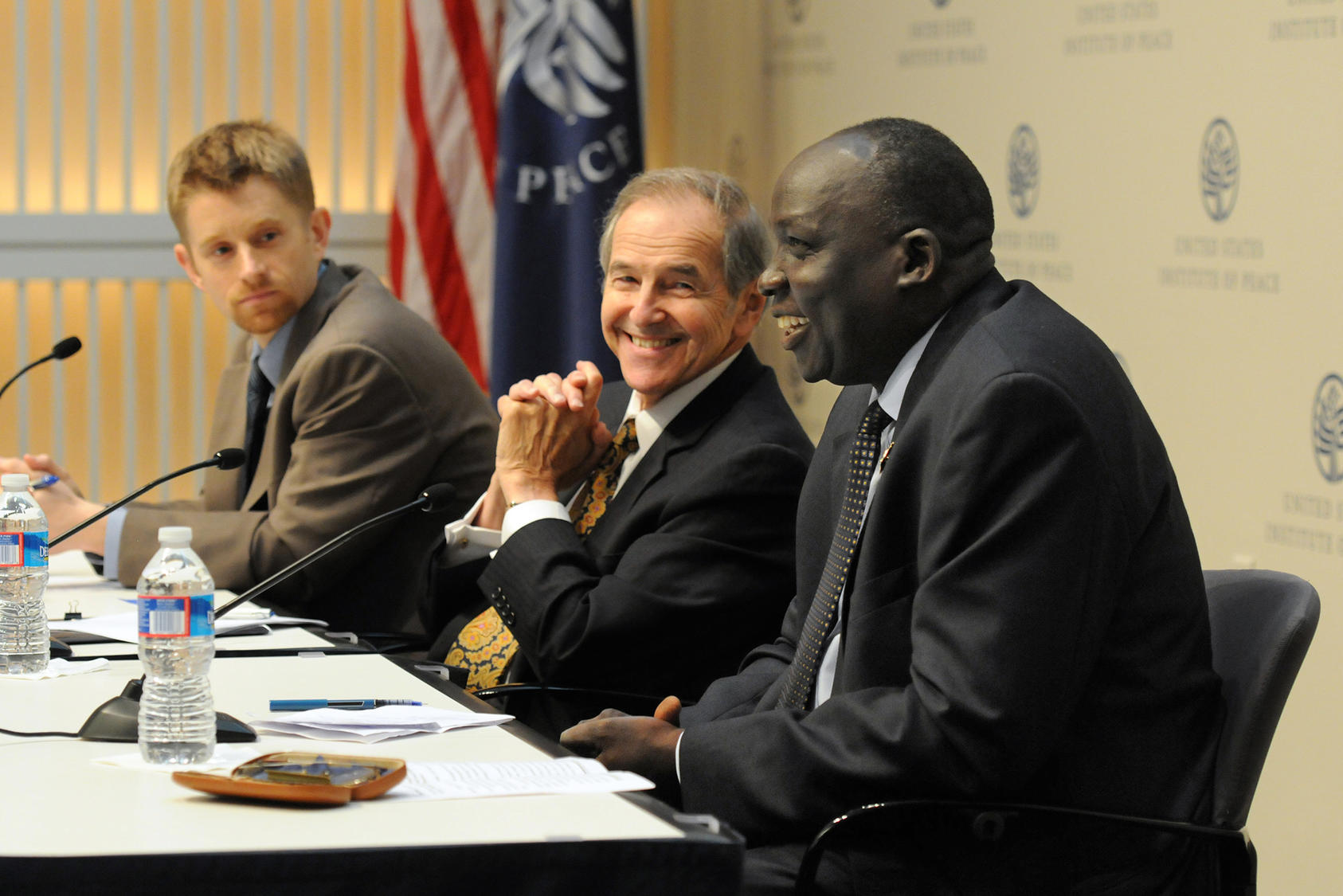 Ambassador Lyman at USIP event on South Sudan, July 9, 2012.