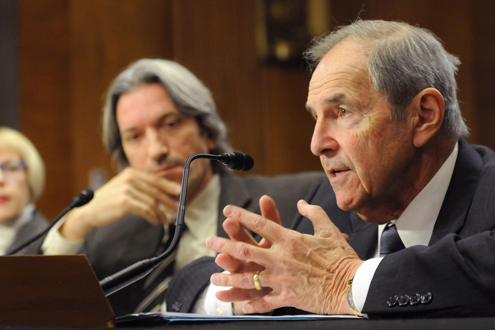 Ambassador Lyman testifies before the Senate Foreign Relations Committee on the political context of the conflict in South Sudan, January 9, 2014.
