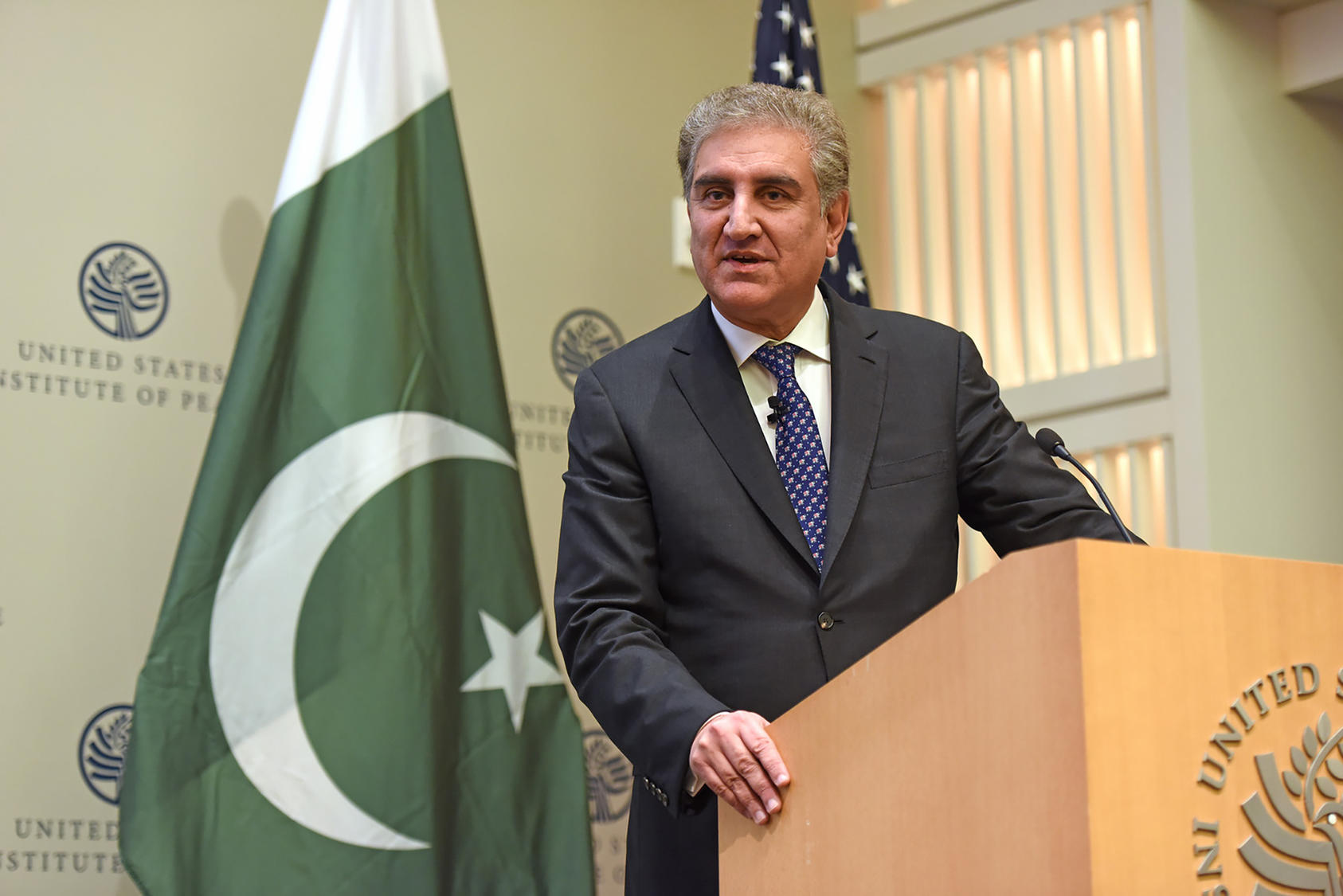 Pakistan's Foreign Minister Shah Mahmoud Quershi