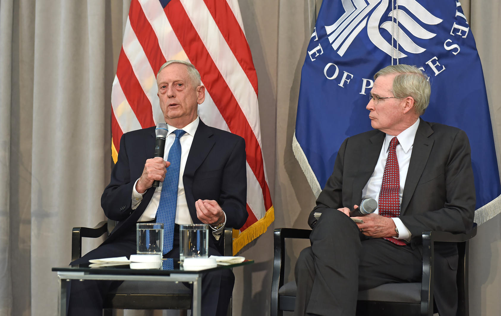 James Mattis and Stephen Hadley