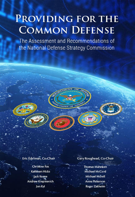 National Defense Strategy Commission Releases Its Review Of 2018 National Defense Strategy United States Institute Of Peace