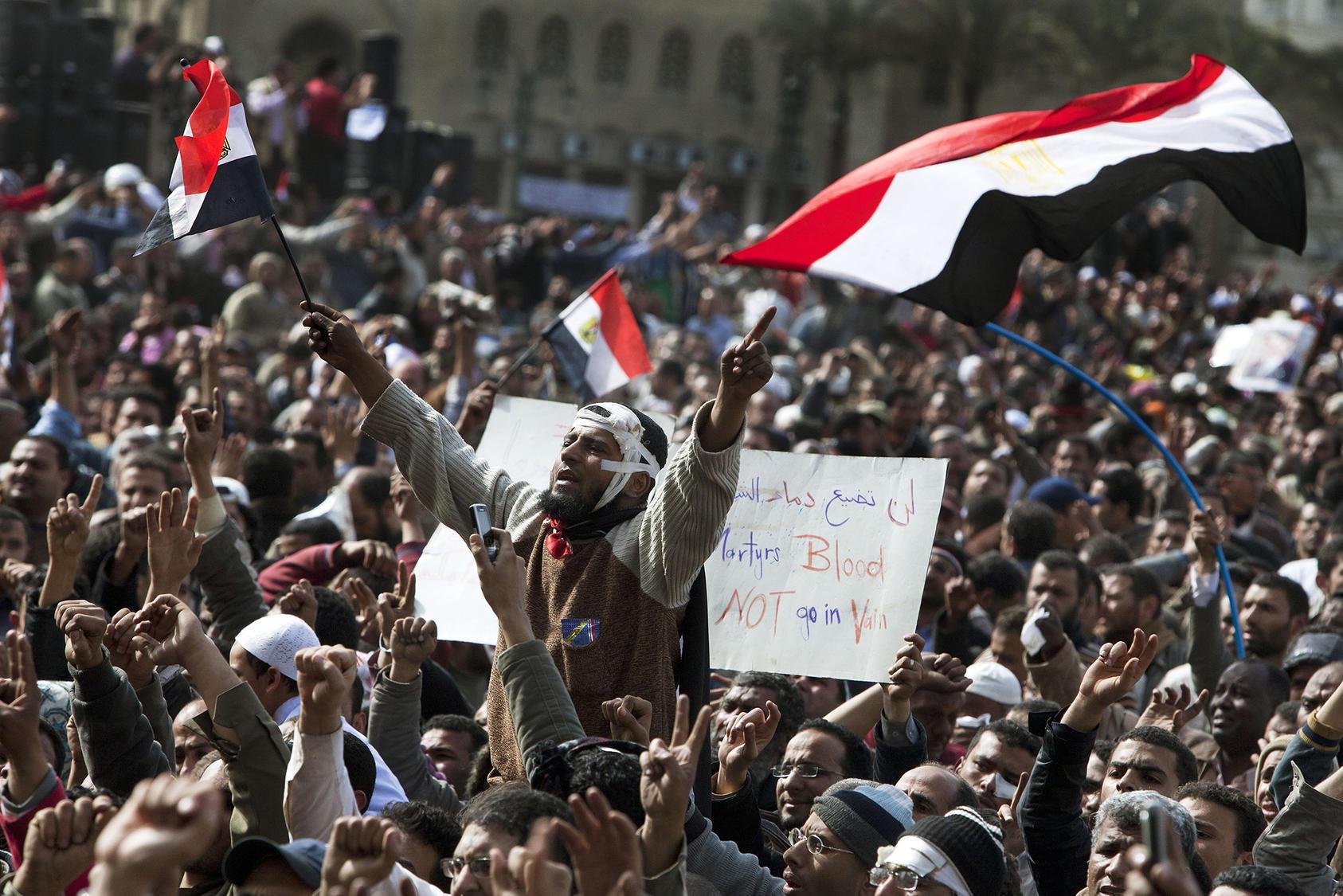 Egypt Timeline Since The Arab Uprising United States Institute