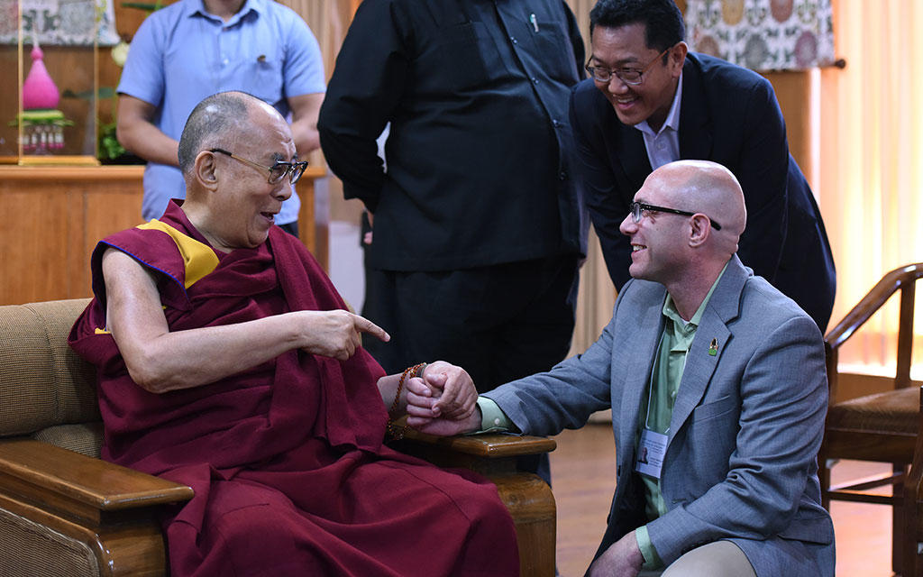 USIP Youth Leaders Exchange with His Holiness the Dalai Lama