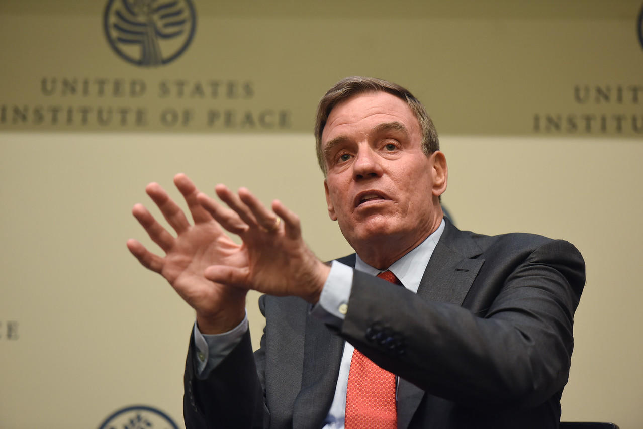 Senator Mark Warner: Meeting the Challenge of China | United States  Institute of Peace