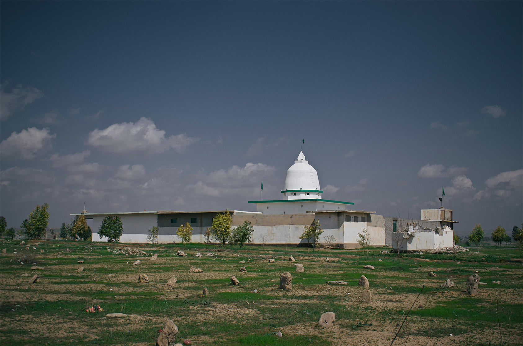 This Kakai religious shrine, called Shah Hayas, in the Iraqi village of Wardik was destroyed by ISIS in 2014 and rebuilt in 2017. (Levi Clancy/Wikimedia Commons)