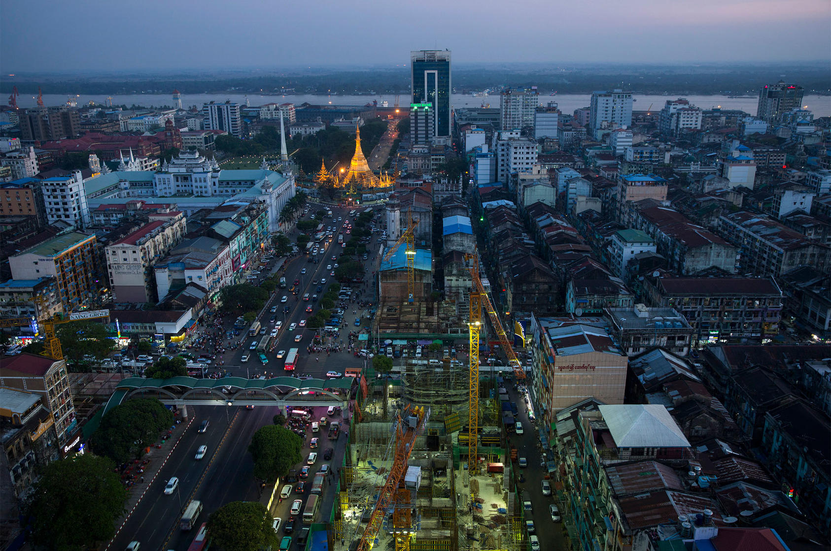 Yangon, the capital of Myanmar, April 1, 2015. (Adam Dean/The New York Times)