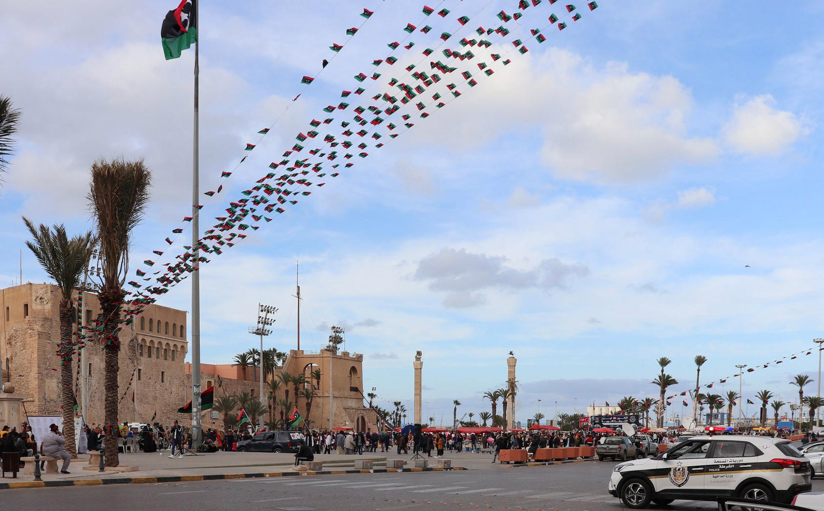 Tripoli main square