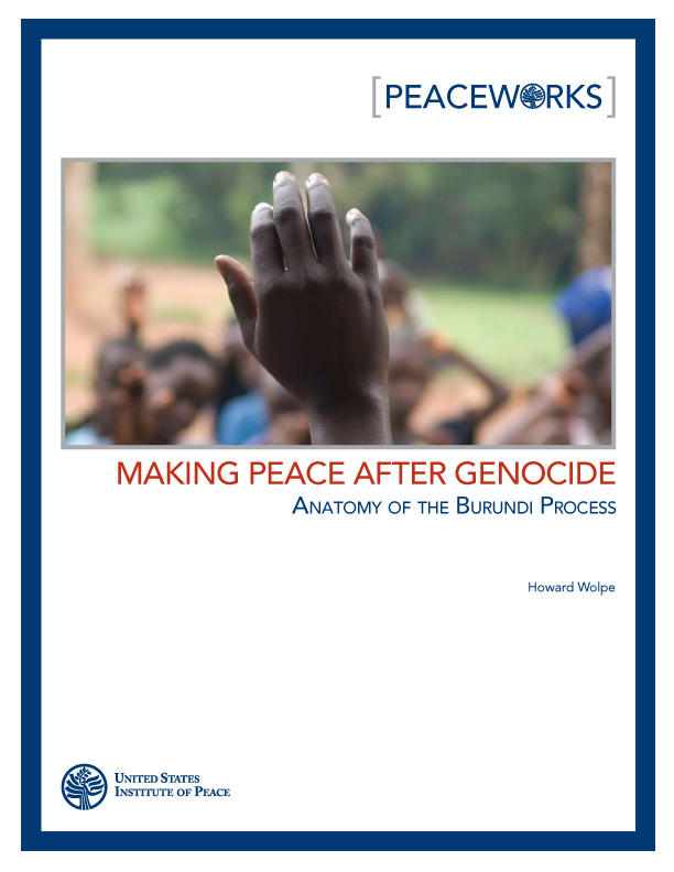 Making Peace after Genocide | United States Institute of Peace
