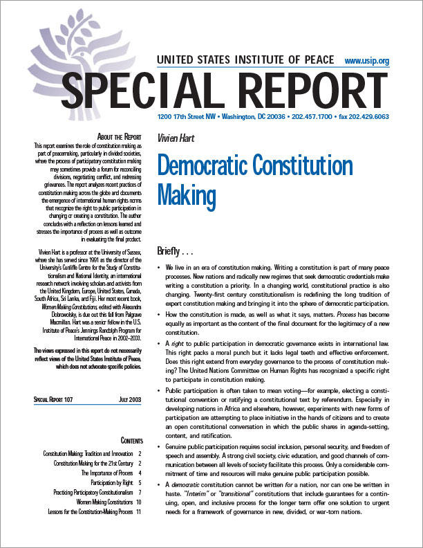constitution democratic essay Constitutional democracy is a system of government in which the limits of political authority are clearly stated and the electorate has the power to remove poor performing governments countries that adhere to the political system of a constitution democracy usually have a legal framework, such as a.
