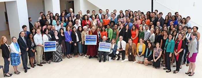 HHDL and USIP