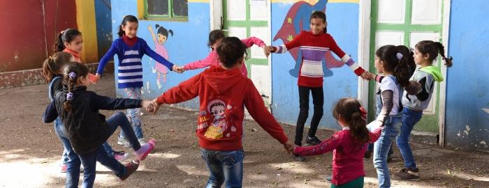 Syrian refugee school