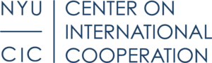 New York University's Center on International Cooperation logo