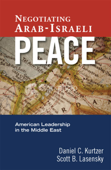 Negotiating Arab Israeli Peace book cover