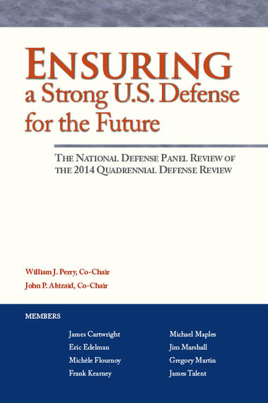 cover of Ensuring a Strong U.S. Defense for the Future