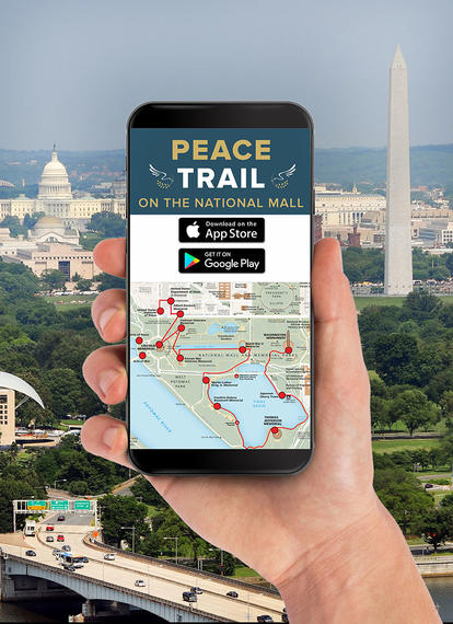 The Peace Trail on the National Mall Mobile App