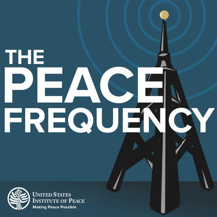 Peace Frequency podcast logo