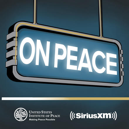 USIP SIRIUS On Peace peace podcast logo