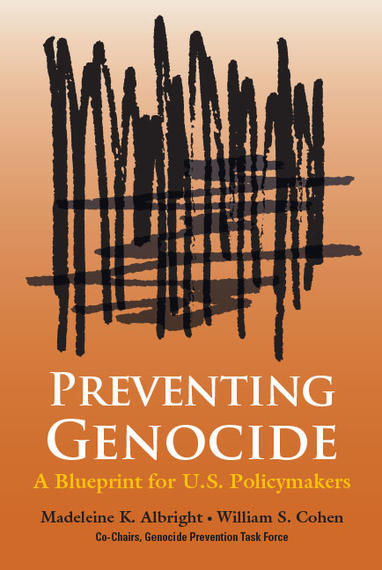Preventing Genocide: A Blueprint for U.S. Policymakers cover