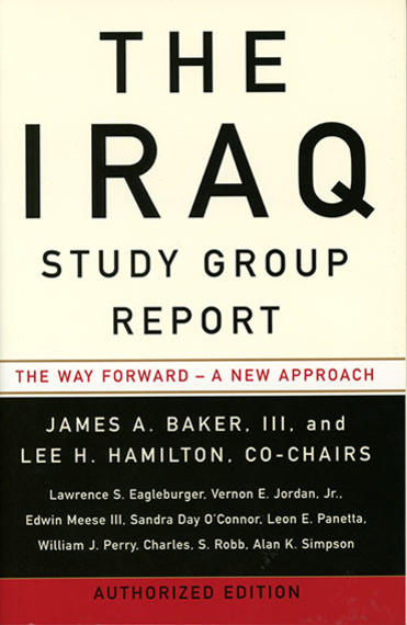 Iraq Study Group report cover