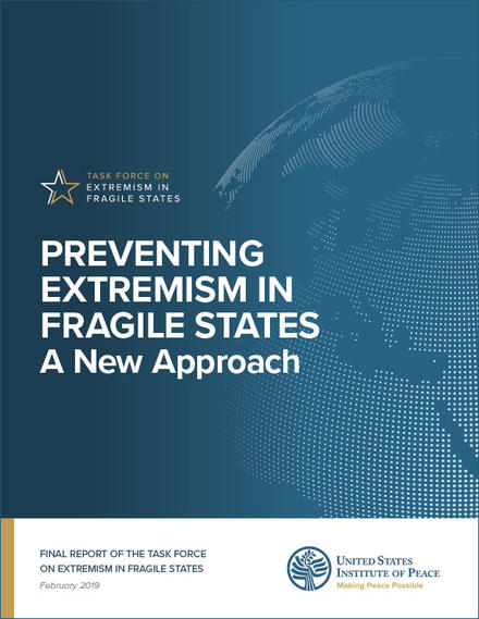 Preventing Extremism in Fragile States: A New Approach report cover