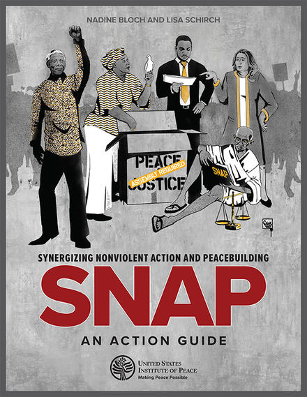 SNAP: Synergizing Nonviolent Action and Peacebuilding Cover