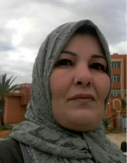 Aisha Bakoush, nurse and mediator in Sebha, Libya.