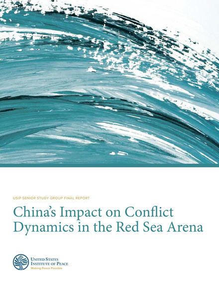China's Impact on Conflict Dyanmics in the Red Sea Arena Report Cover