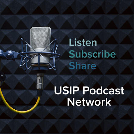 USIP Podcast Network promo badges