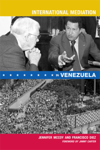 International Mediation in Venezuela book cover