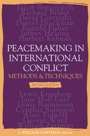 conflict mediation and peacemaking The normative aims of peace studies are conflict transformation and conflict resolution through mechanisms such as peacekeeping, peacebuilding (eg, tackling disparities in rights, institutions and the distribution of world wealth) and peacemaking (eg, mediation and conflict resolution.