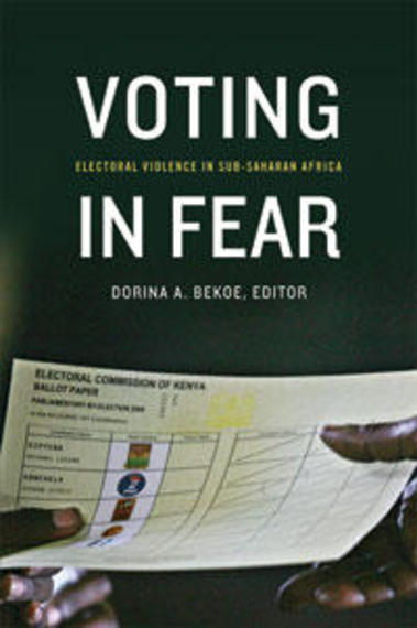 book cover Voting in Fear