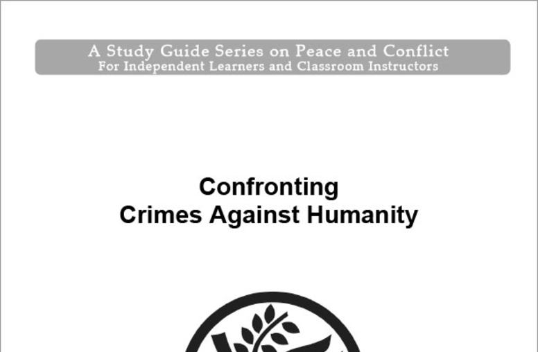 Confronting Crimes Against Humanity
