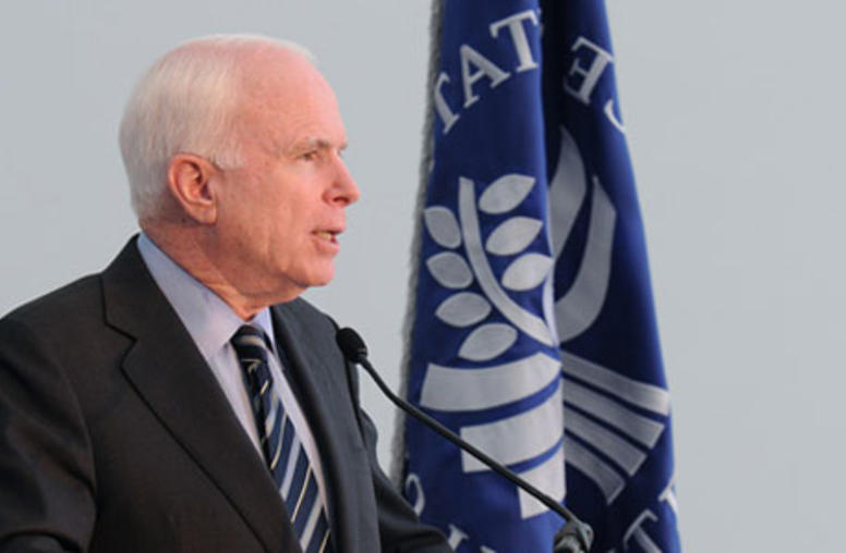Sen. John McCain: U.S. Must Sustain Momentum of Arab Spring