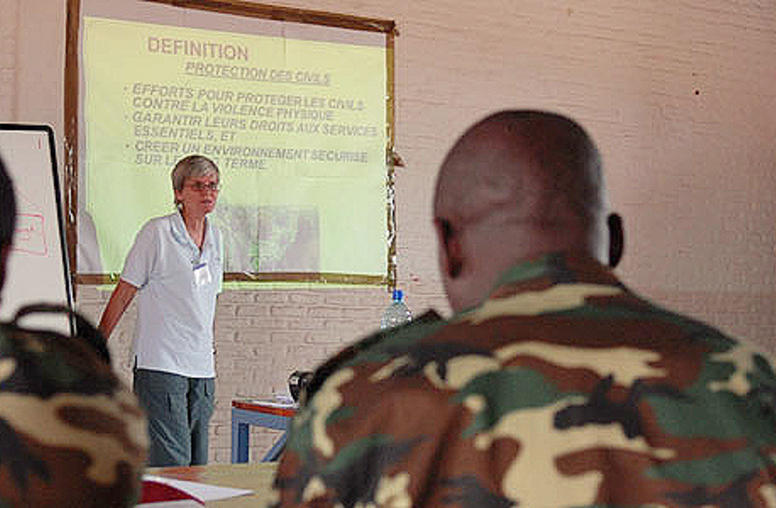 Training Peacekeepers in Burundi