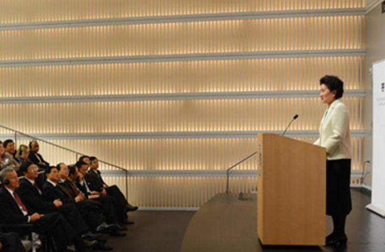 At USIP, Chinese Vice Premier Liu Urges More People-to-People Exchanges