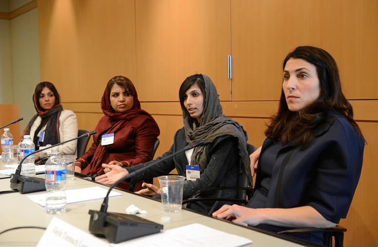 Afghan Female Entrepreneurs Talk Business at USIP