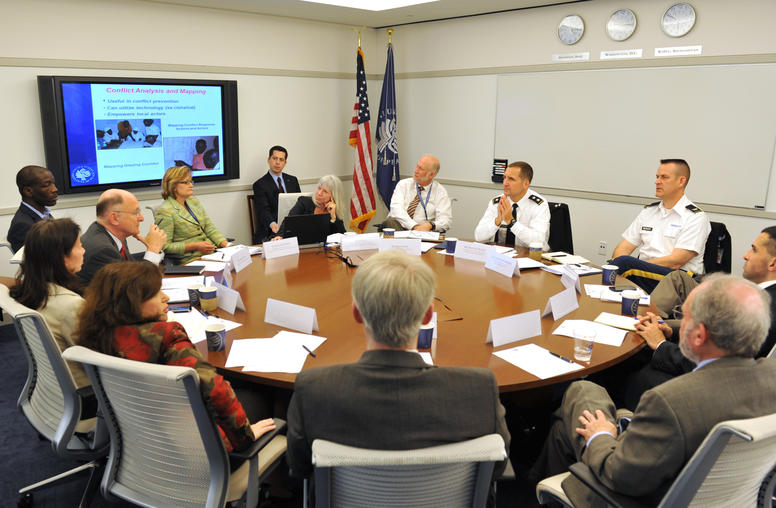 USIP Holds Briefing for U.S. Commander Deploying to Africa