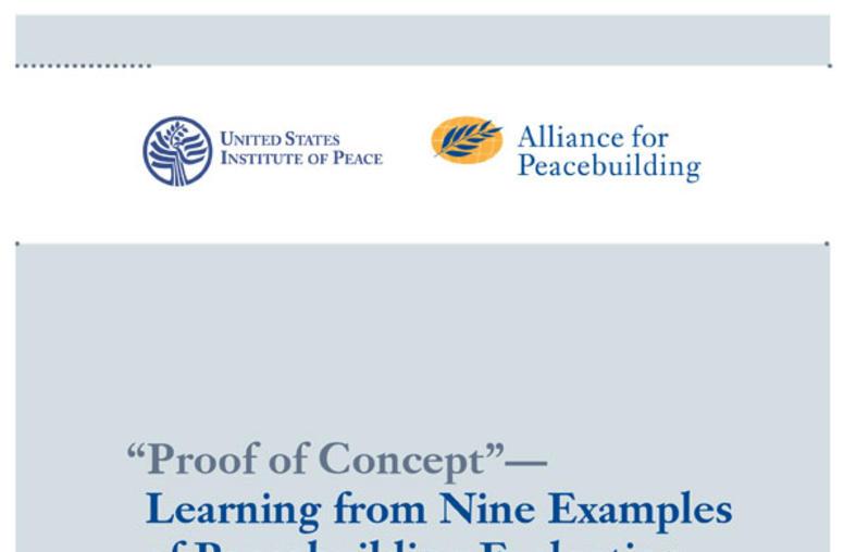 Evaluating Peacebuilding: Nine Case Studies