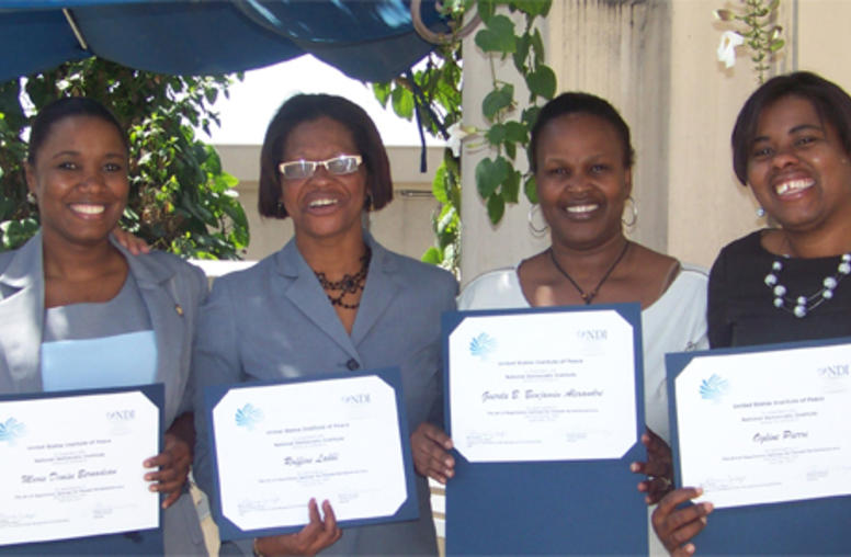 Using Dialogue and Negotiation to Improve Development in Haiti