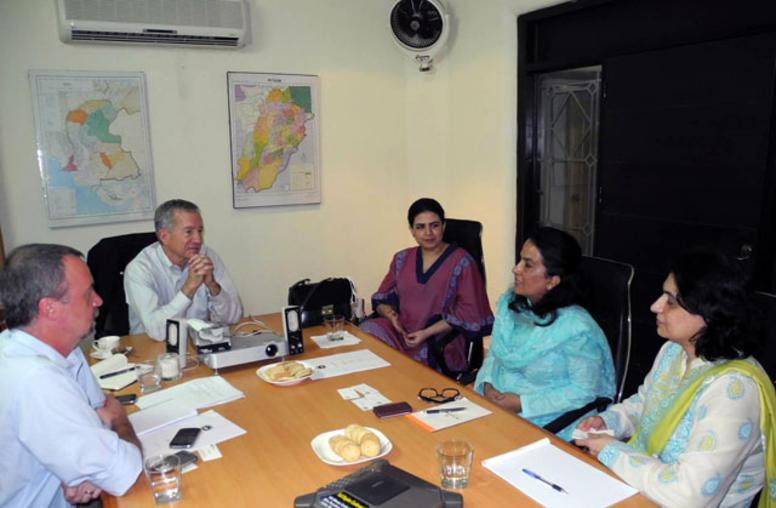USIP President-Select Visits Pakistan
