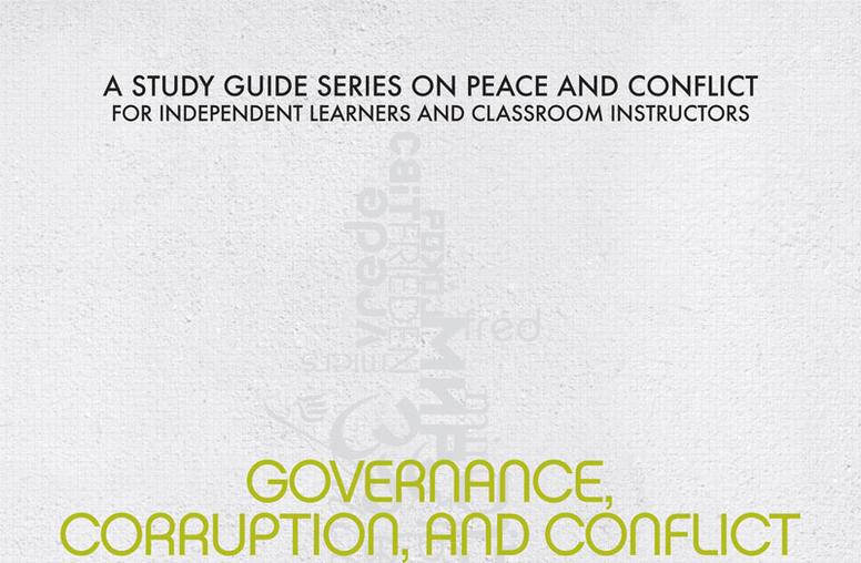 Governance, Corruption, and Conflict