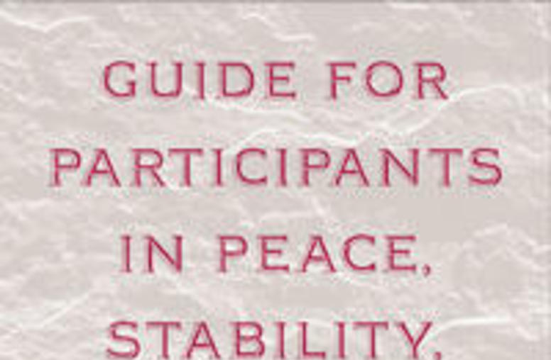 Guide for Participants in Peace, Stability, and Relief Operations (Web Version)