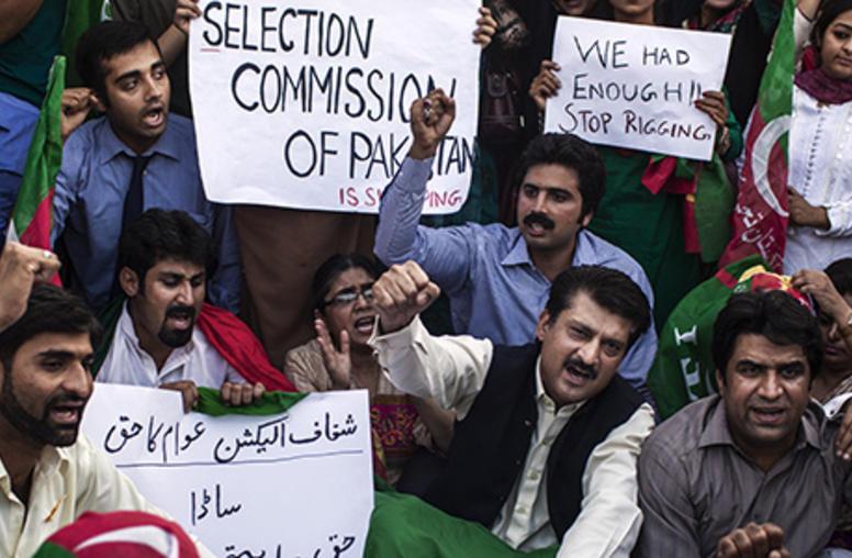 Street Challenges to Pakistan's Democracy