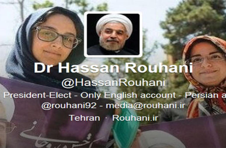 Iran's Rouhani is on Twitter: Change in 140 Characters?